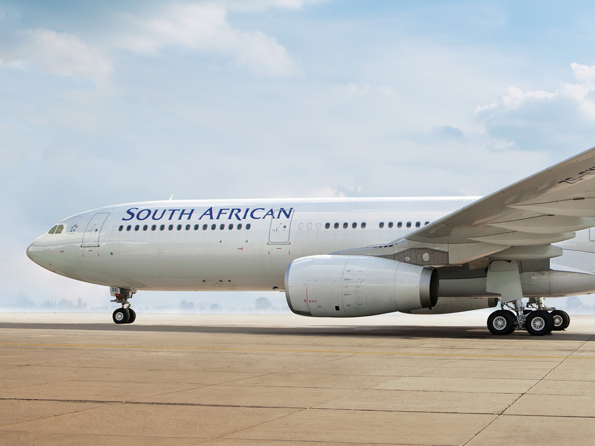 saa shifts fligths to mango