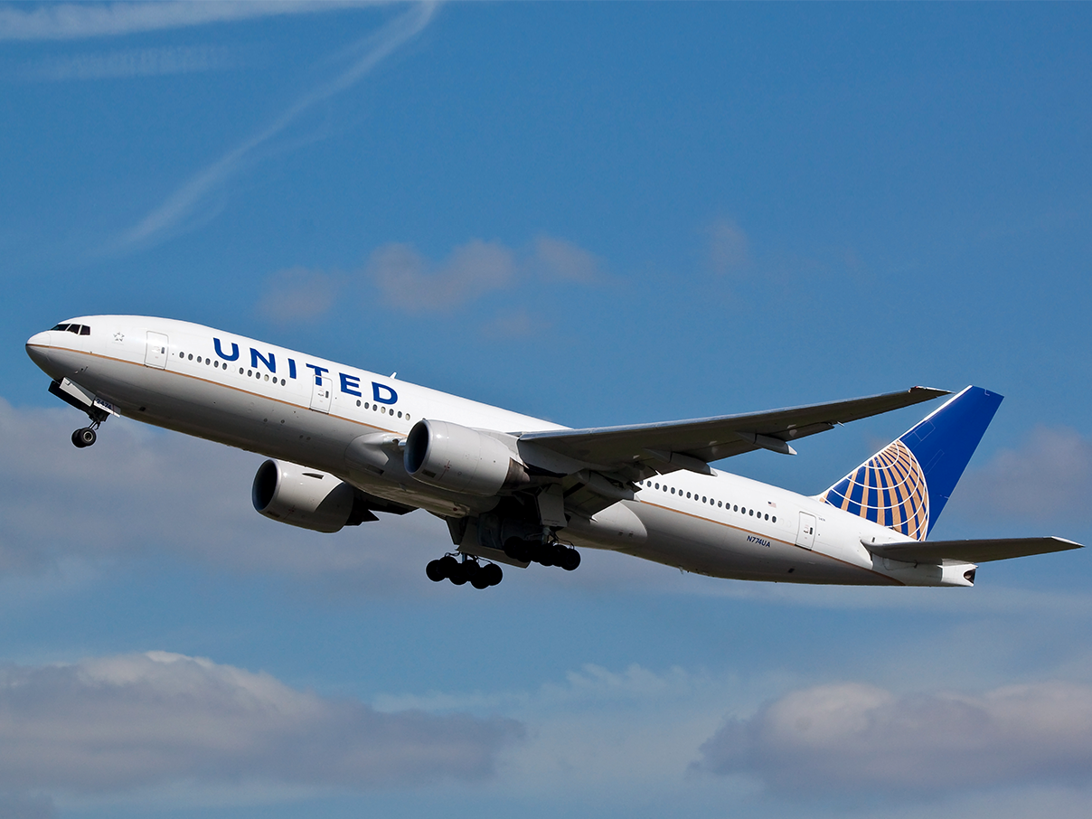 United Airline Cape Town flights