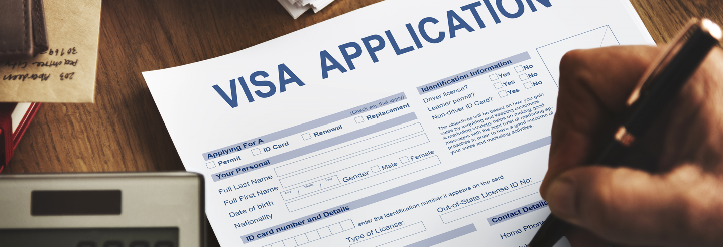 visa application - italy